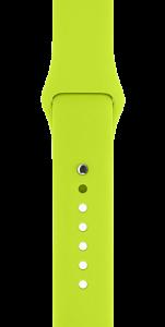 Спортивный ремешок зелёного цвета