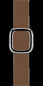 Ремешок коричневого цвета с современной пряжкой 38 мм