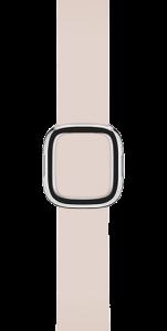 Ремешок бледно-розового цвета с современной пряжкой 38 мм