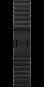 """Блочный браслет цвета """"чёрный космос"""" 42 мм"""