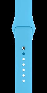 Спортивный ремешок голубого цвета