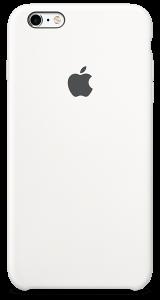 Белый силиконовый чехол для iPhone6/6sPlus