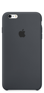 Угольно-серый силиконовый чехол для iPhone6/6s