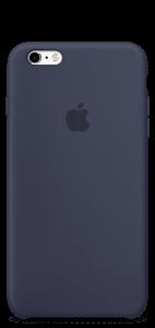 Тёмно-синий силиконовый чехол для iPhone6/6s