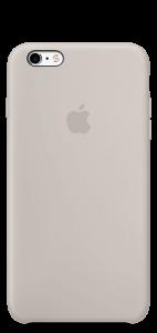 Бежевый силиконовый чехол для iPhone6/6s