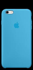 Голубой силиконовый чехол для iPhone6/6s
