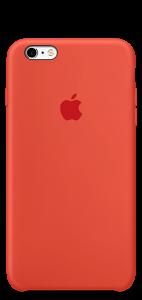 Оранжевый силиконовый чехол для iPhone6/6s