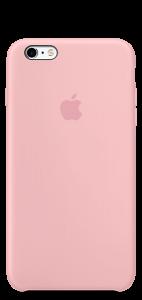 Розовый силиконовый чехол для iPhone6/6s