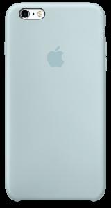 Бирюзовый силиконовый чехол для iPhone6/6sPlus