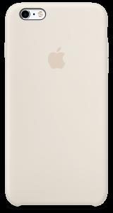 Мраморно-белый силиконовый чехол для iPhone6/6sPlus