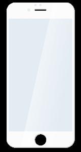 Защитное стекло для iPhone 6/6s plus белое