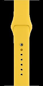Спортивный ремешок жёлтого цвета