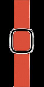 Ремешок красного цвета с современной пряжкой 38 мм